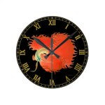 wall clock betta splendens